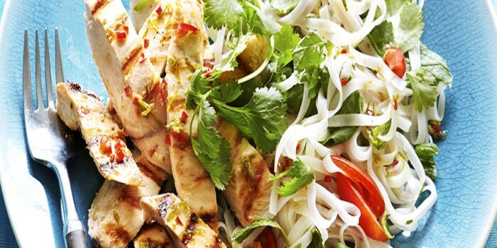 Chicken Coconut Thai Salad