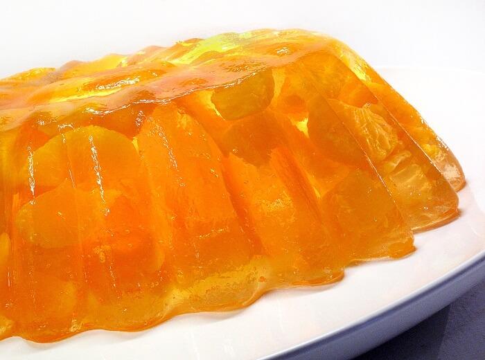 Orange Jelly Cake