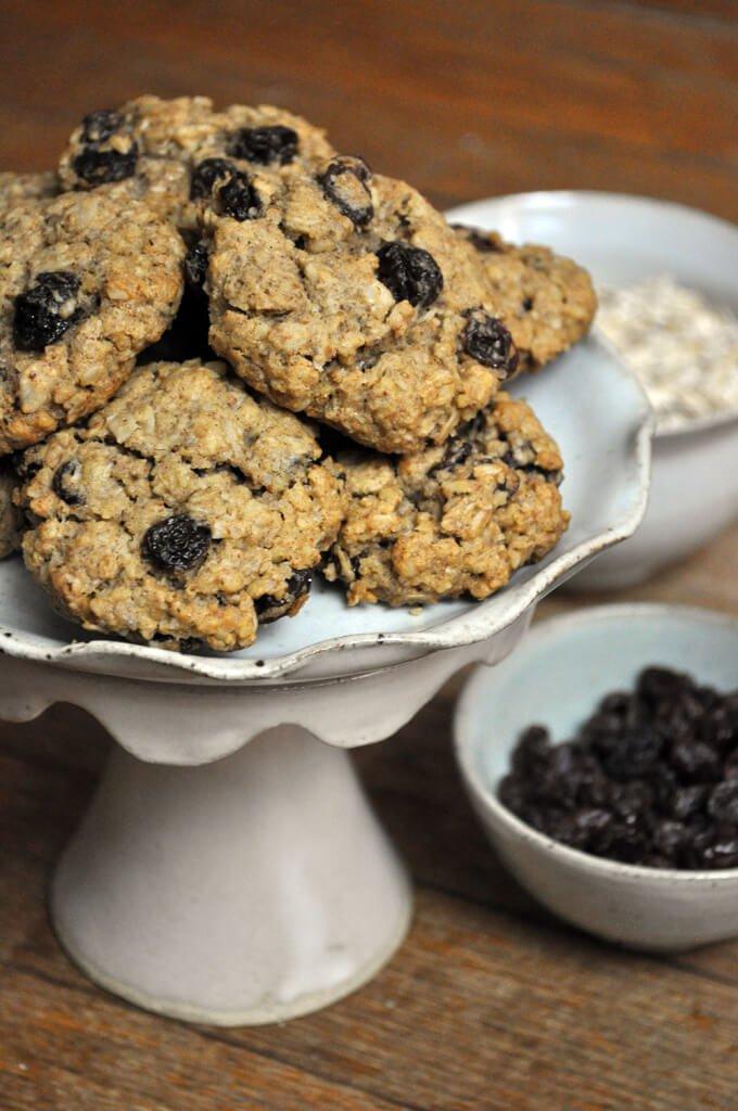 Vegan Gluten-Free Oatmeal Cookies