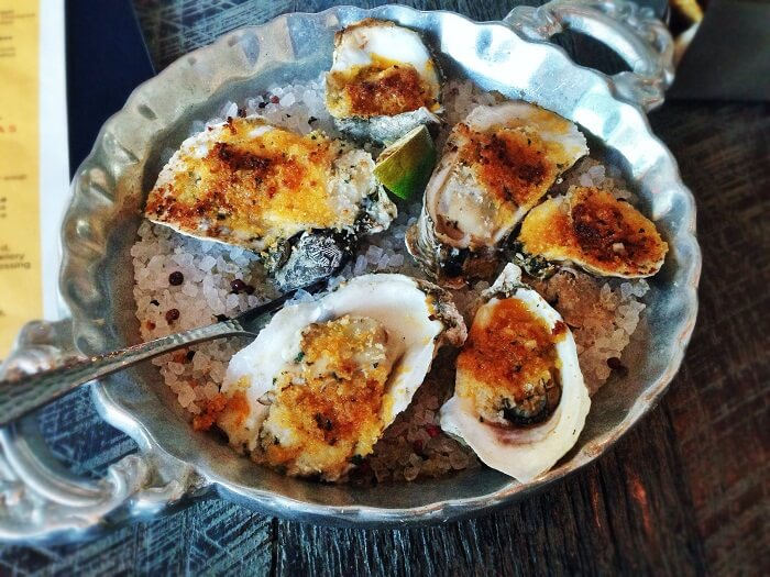 Burnt-Butter Oysters