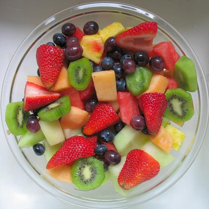 Fruit Salad Pudding