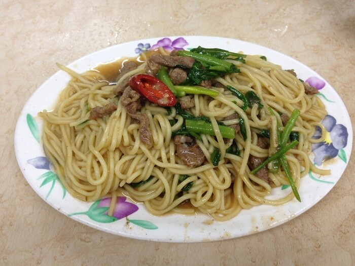 Beef Noodle Stir Fry With Sauce