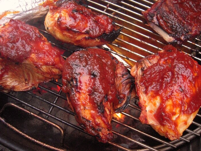 Sweet and Savory BBQ Grilled Chicken Marinade