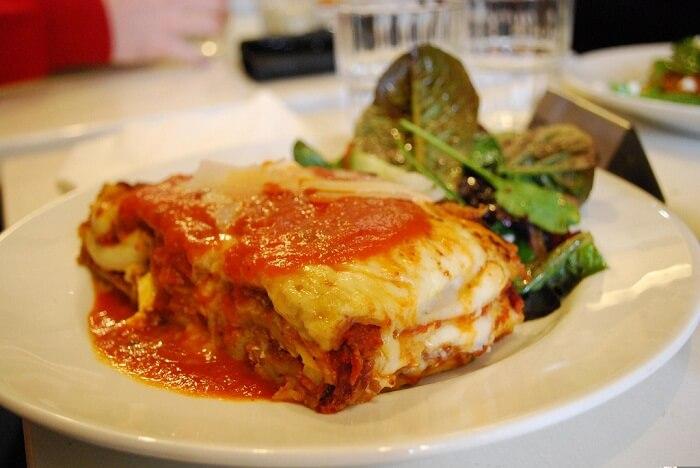 Creamy Beef Lasagna