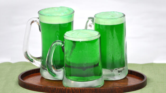 Lucky Green Beer