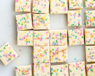 cake mix fudge