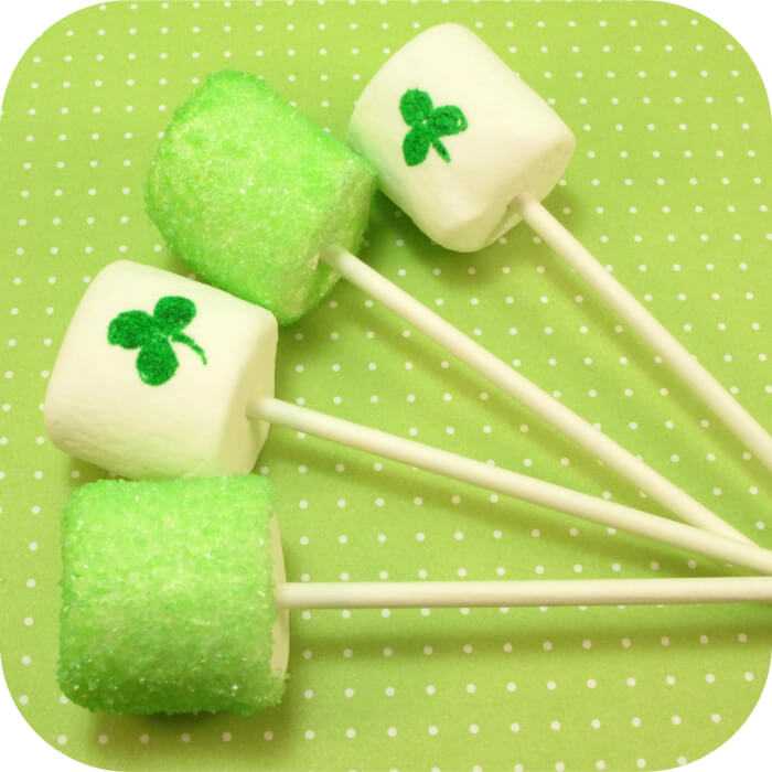 Shamrock Marshmallows