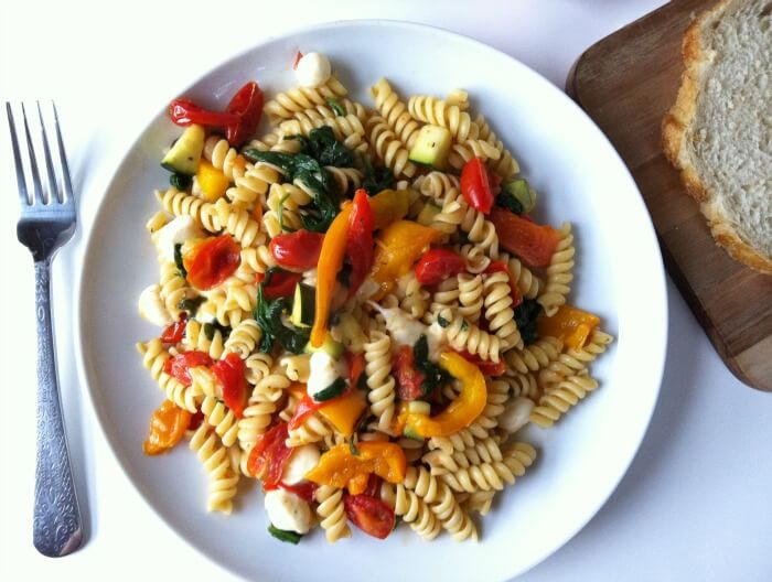 Roasted Pepper Pasta