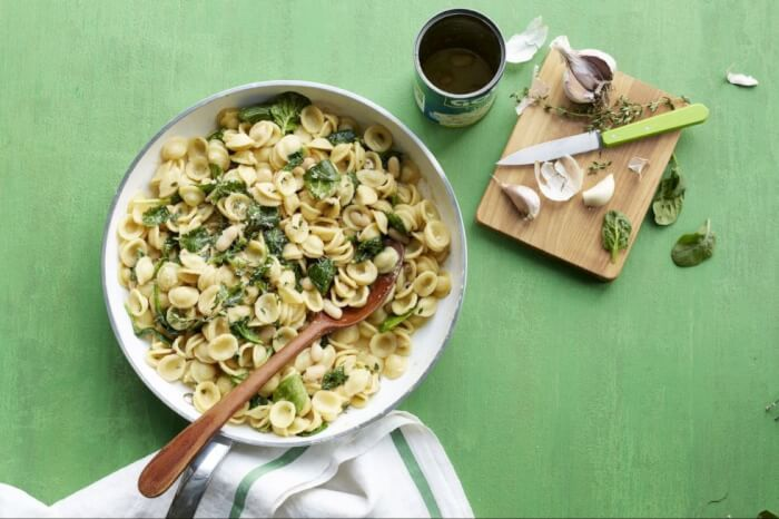 gallery-1460742741-orecchiette-with-white-beans-and-spinach