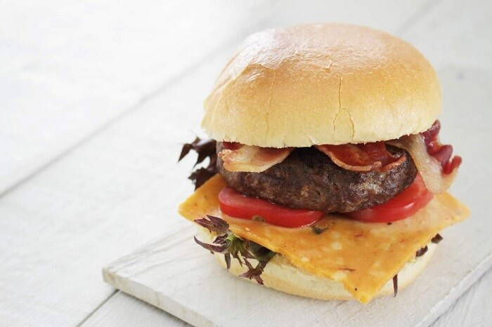 Fat & Meaty Cheese Burger