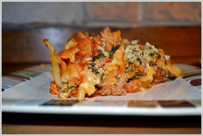 Spicy Lasagna with Turkey