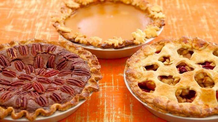 Pumpkin and Apple Pie