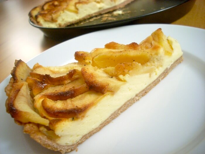 Cheese and Apple Pie