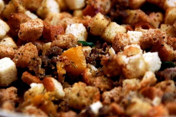 Rosemary Bread Stuffing