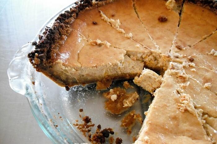 Pumpkin Cookie Crust Cheese Cake