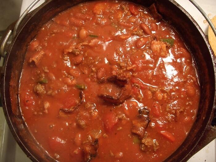 Spicy Leftover Turkey Chili