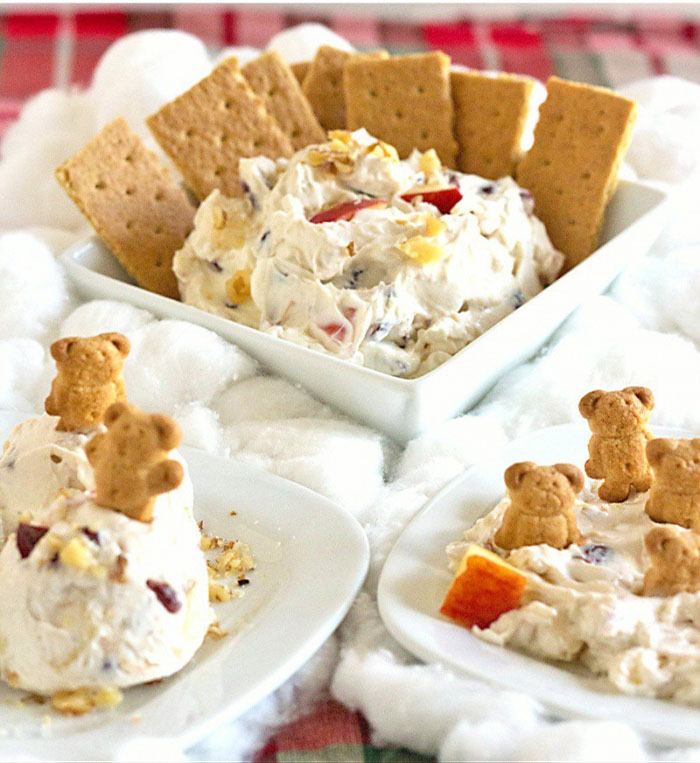 Cranberry Walnut Cream Cheese Dip